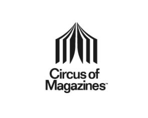 Logo Olivier Courbet Circus of Magazines